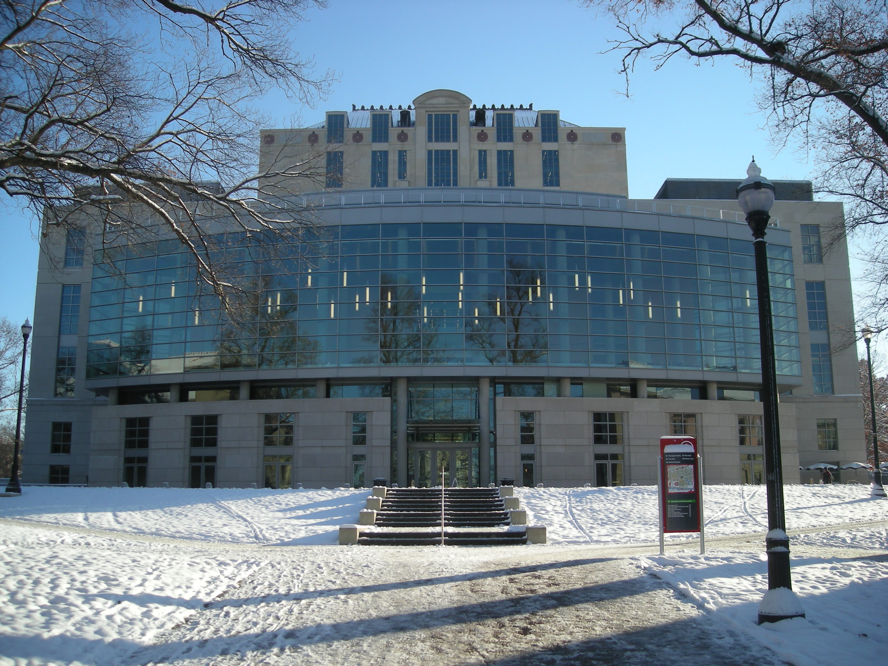 thompson library at the ohio state university anderson aluminum photo 3
