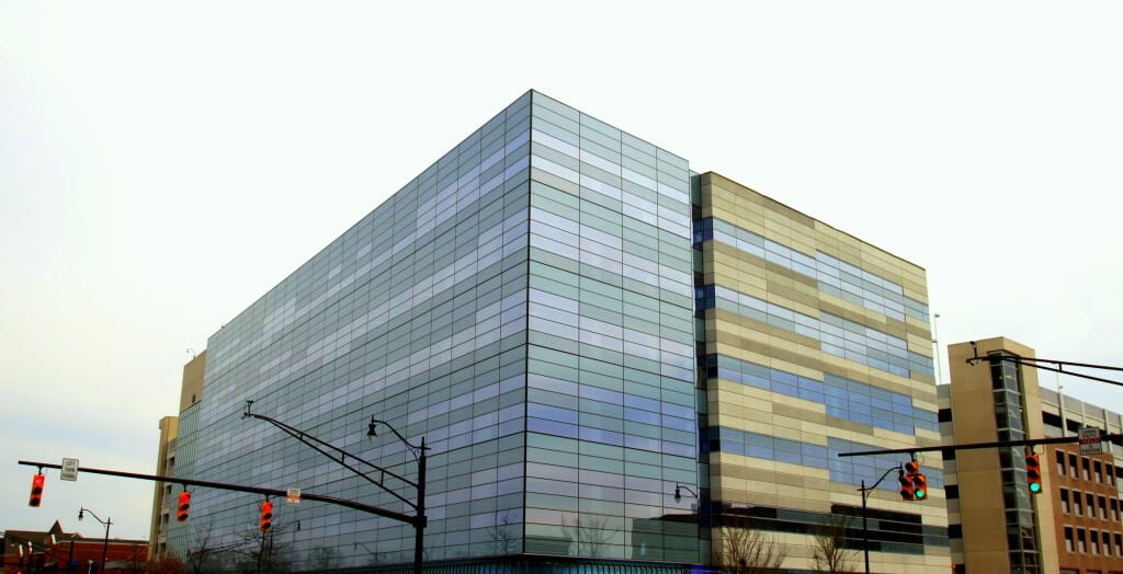 Anderson Aluminum was awarded a BX Craftsmanship Award for our unitized curtain wall & interior glass installation at Nationwide Children's Hospital's Faculty Office Building.